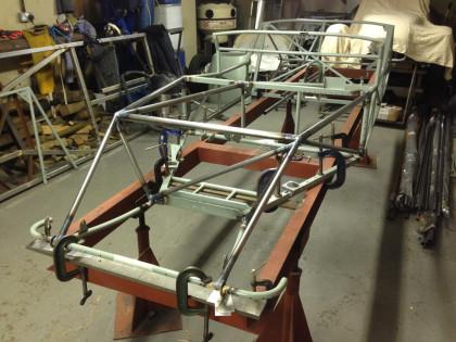 Lotus 11<br/>Chassis repair