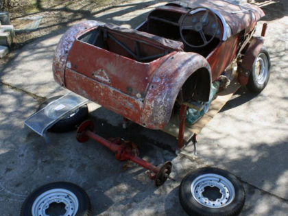Lotus 6<br/>Lost car
