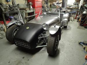 Lotus 7 S1<br/>Rebuild